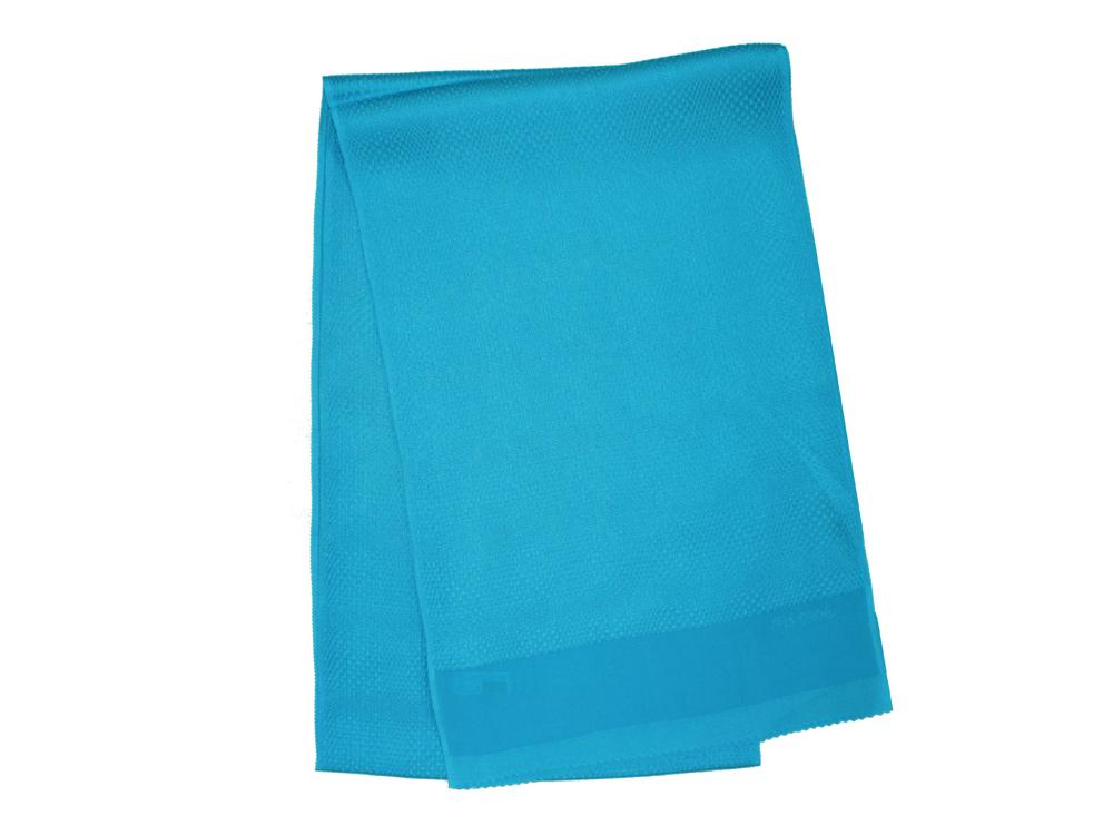 SALE セール 30%OFF 高級 送料無料 変市松 新品 高級な 丹後ちりめんシアンブルー色帯揚げ衿秀