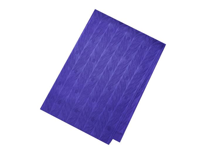 SALE セール 供え 30%OFF 帯揚げ紫色葉つなぎに小花別染衿秀 送料無料 送料無料 新品