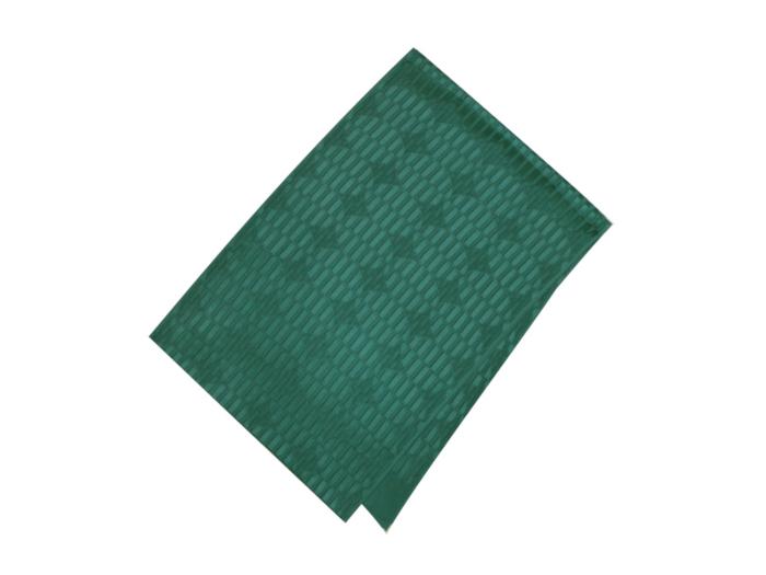 爆売り SALE セール 30%OFF 送料無料 帯揚げ海松藍 衿秀 新品 色 みるあい 市松菱文別染 再再販