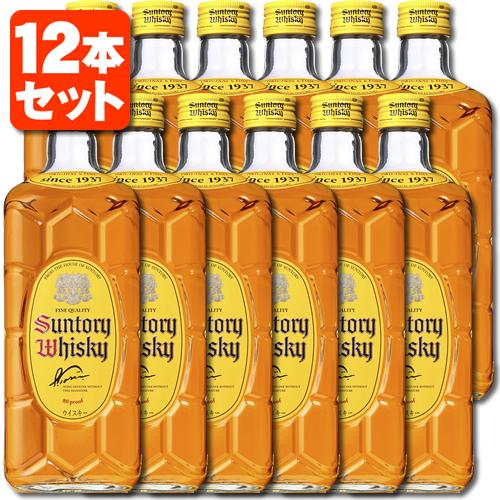 【12本セット送料無料】サントリー 角瓶 40度 700ml×12本 [1ケース]※他の商品と同梱不可※北海道・九州・沖縄県は送料無料対象外です。角 かくびん [T.001.2334.1.SE]