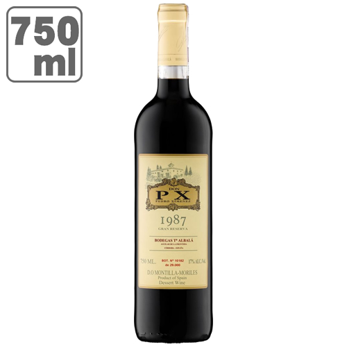 D.O.モンテーリャ・モリレス ドン・ペーエキス 1987 グランリゼルバ 750mlペドロヒメネス 100% / ワイン スペイン ドンペーエキス ドン ペーエキス ドンピーエキス 白 極甘口 甘口