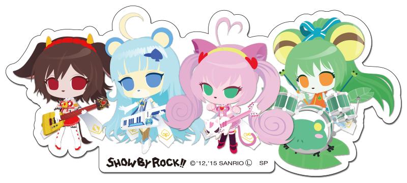 楽天市場】SHOW BY ROCK!!【ステッカー】(クリティクリスタ)ショウバイ ...