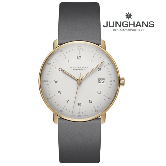 JUNGHANS ユンハンス 027_7806_00 メカニカル 自動巻き メンズ 腕時計 ウォッチ 時計 金色 カーフストラップ 正規輸入品 メーカー保証付 誕生日プレゼント 男性 ギフト ブランド かっこいい もてる 送料無料