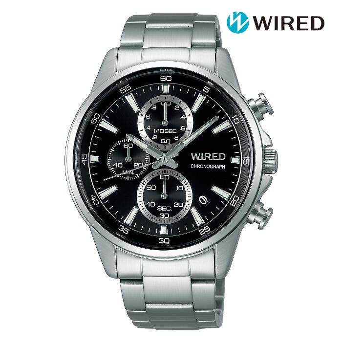 SEIKO セイコー WIRED ワイアード AGAT424 電池式クォーツ メンズ 腕時計 ウォッチ 時計 シルバー色 金属ベルト 国内正規品 メーカー保証付 誕生日プレゼント 男性 ギフト ブランド かっこいい もてる 送料無料