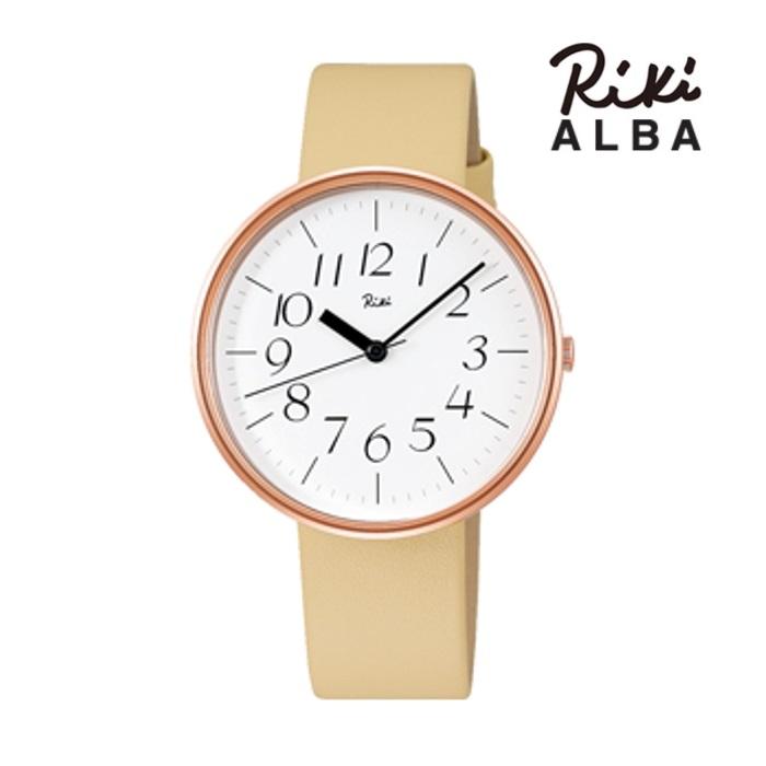 SEIKO セイコー ALBA アルバ リキ  AKQK451 クオーツ メンズ 腕時計 ウォッチ 時計 ピンクゴールド色 カーフストラップ  国内正規品 メーカー保証付 誕生日プレゼント 男性 ギフト ブランド かっこいい もてる 送料無料