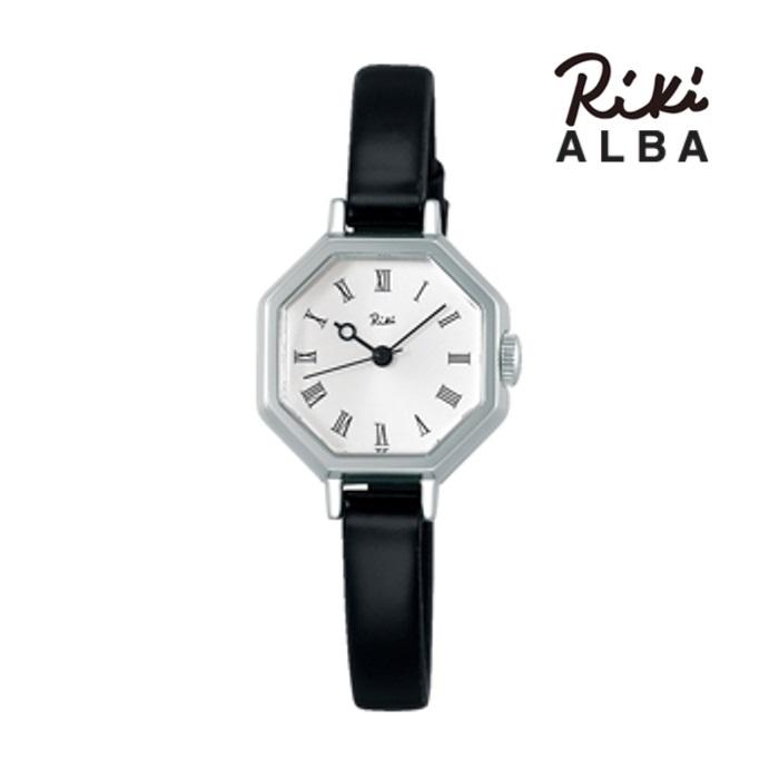SEIKO セイコー ALBA アルバ リキ AKQK456 クオーツ レディス 腕時計 ウォッチ 時計 シルバー色 カーフストラップ  国内正規品 メーカー保証付 誕生日プレゼント 女性 ギフト ブランド おしゃれ 送料無料