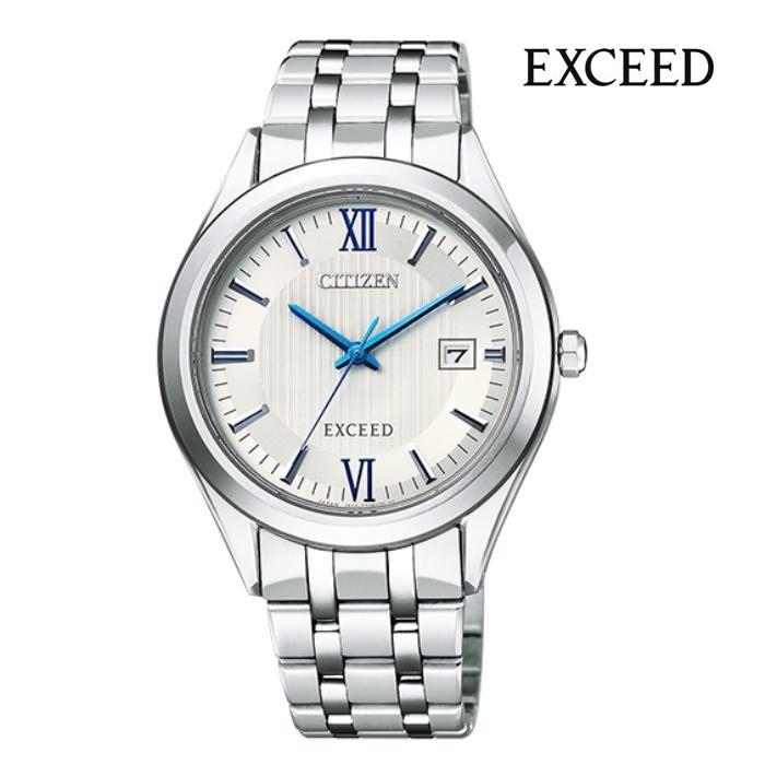 CITIZEN シチズン エクシード EXCEED AW1000-51A エコ・ドライブ メンズ 腕時計 ウォッチ 時計 シルバー色 金属ベルト 国内正規品 メーカー保証付 誕生日プレゼント 男性 ギフト ブランド かっこいい もてる 送料無料
