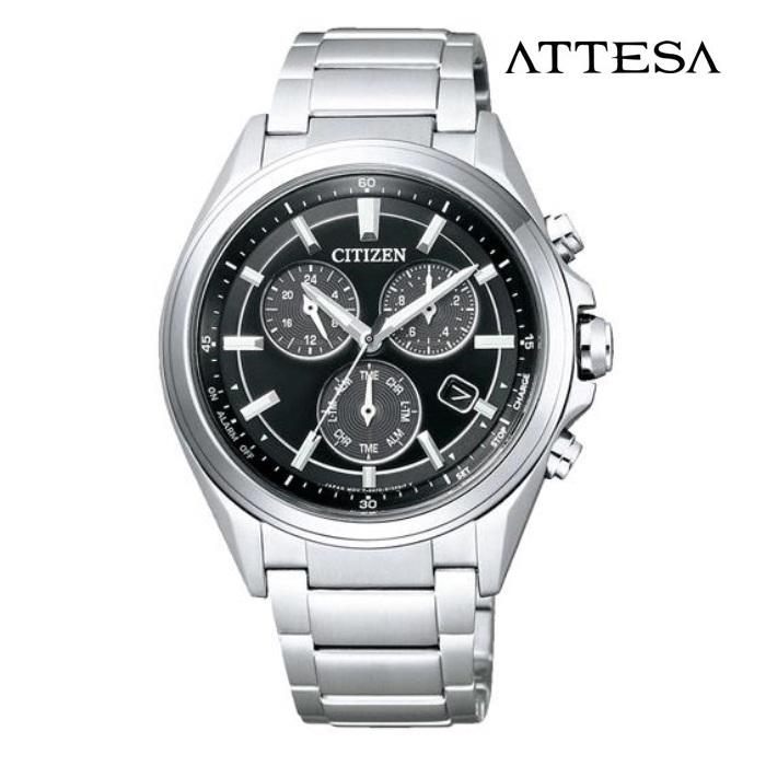 CITIZEN シチズン アテッサ ATTESA BL5530-57E エコ・ドライブ メンズ 腕時計 ウォッチ 時計 シルバー色 金属ベルト 国内正規品 メーカー保証付 誕生日プレゼント 男性 ギフト ブランド かっこいい もてる 送料無料