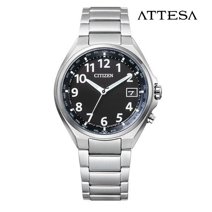 CITIZEN シチズン アテッサ ATTESA CB1120-50F エコ・ドライブ電波 メンズ 腕時計 ウォッチ 時計 シルバー色 金属ベルト 国内正規品 メーカー保証付 誕生日プレゼント 男性 ギフト ブランド かっこいい もてる 送料無料