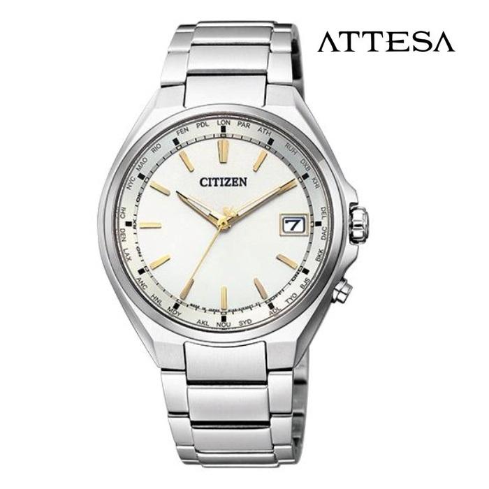 CITIZEN シチズン アテッサ ATTESA CB1120-50P エコ・ドライブ電波 メンズ 腕時計 ウォッチ 時計 シルバー色 金属ベルト 国内正規品 メーカー保証付 誕生日プレゼント 男性 ギフト ブランド かっこいい もてる 送料無料
