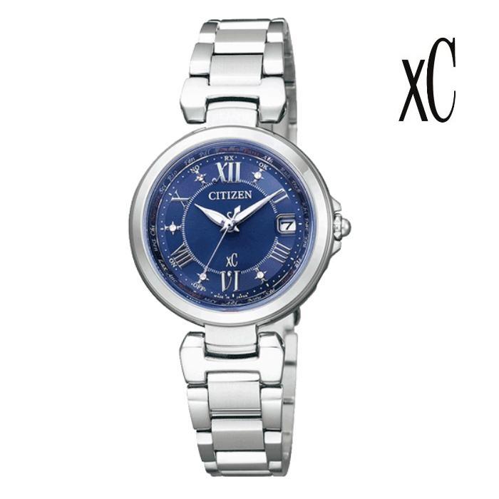 CITIZEN シチズン XC クロスシー EC1030-50L エコ・ドライブ電波 レディス 腕時計 ウォッチ 時計 シルバー色 金属ベルト 国内正規品 メーカー保証付 誕生日プレゼント 女性 ギフト ブランド おしゃれ 送料無料