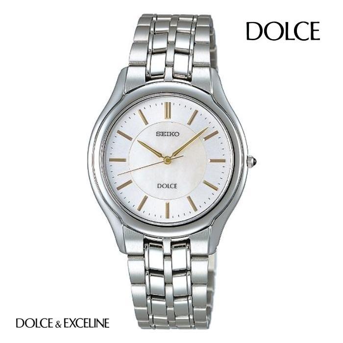 SEIKO セイコー ドルチェ DOLCE SACL009 電池式クォーツ メンズ 腕時計 ウォッチ 時計 シルバー色 金属ベルト 国内正規品 メーカー保証付 誕生日プレゼント 男性 ギフト ブランド かっこいい もてる 送料無料