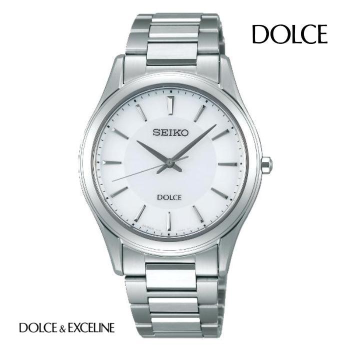 SEIKO セイコー ドルチェ DOLCE SADL011 ソーラー メンズ 腕時計 ウォッチ 時計 シルバー色 金属ベルト 国内正規品 メーカー保証付 誕生日プレゼント 男性 ギフト ブランド かっこいい もてる 送料無料