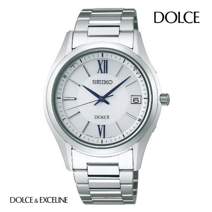 SEIKO セイコー ドルチェ DOLCE SADZ185 ソーラー電波 メンズ 腕時計 ウォッチ 時計 グレー色 金属ベルト 国内正規品 メーカー保証付 誕生日プレゼント 男性 ギフト ブランド かっこいい もてる 送料無料