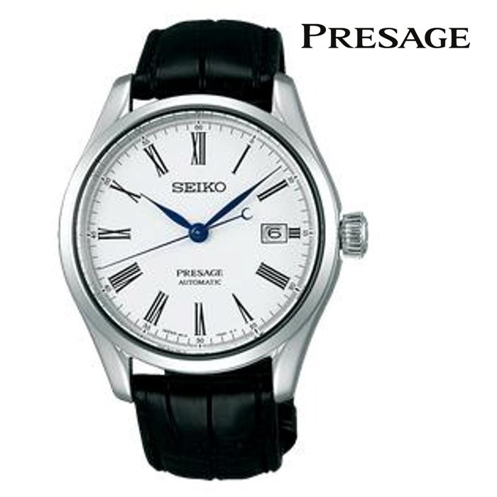 SEIKO セイコー プレザージュ PRESAGE SARX049 メカニカル 自動巻き(手巻き付き) メンズ 腕時計 ウォッチ 時計 シルバー色 クロコダイルストラップ 国内正規品 メーカー保証付 誕生日プレゼント 男性 ギフト ブランド かっこいい もてる 送料無料