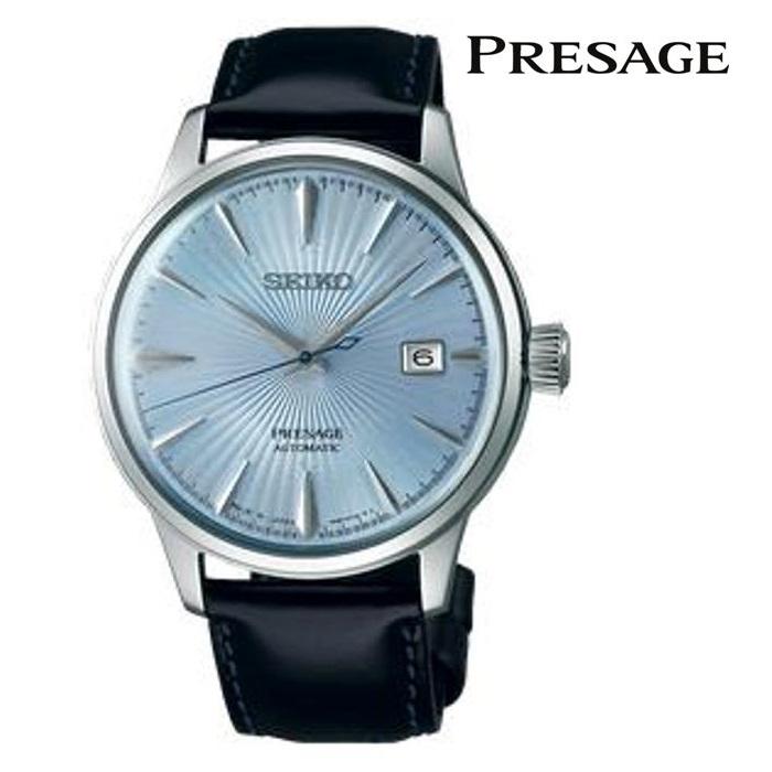 SEIKO セイコー プレザージュ PRESAGE SARY125 メカニカル 自動巻き(手巻き付き) メンズ 腕時計 ウォッチ 時計 シルバー色 カーフストラップ 国内正規品 メーカー保証付 誕生日プレゼント 男性 ギフト ブランド かっこいい もてる 送料無料
