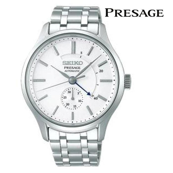 SEIKO セイコー プレザージュ PRESAGE SARY143 メカニカル 自動巻き(手巻き付き) メンズ 腕時計 ウォッチ 時計 シルバー色 金属ベルト 国内正規品 メーカー保証付 誕生日プレゼント 男性 ギフト ブランド かっこいい もてる 送料無料