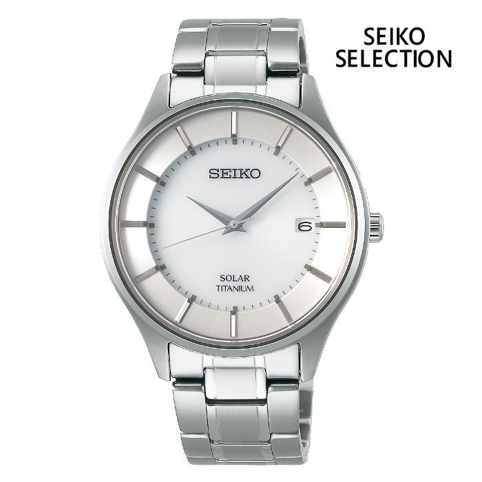 SEIKO セイコー SEIKO-SELECTION セイコーセレクション SBPX101 ソーラー メンズ 腕時計 ウォッチ 時計 グレー色 金属ベルト 国内正規品 メーカー保証付 誕生日プレゼント 男性 ギフト ブランド かっこいい もてる 送料無料
