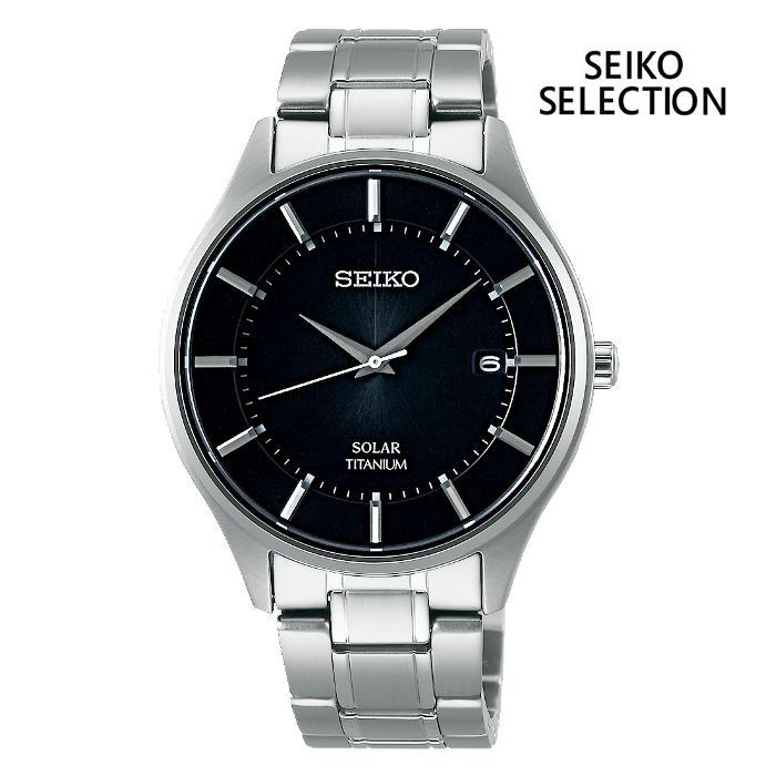SEIKO セイコー SEIKO-SELECTION セイコーセレクション SBPX103 ソーラー メンズ 腕時計 ウォッチ 時計 グレー色 金属ベルト 国内正規品 メーカー保証付 誕生日プレゼント 男性 ギフト ブランド かっこいい もてる 送料無料