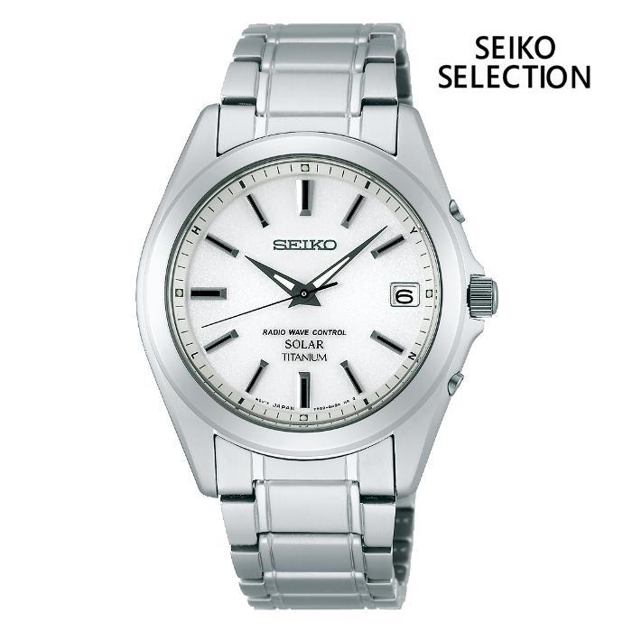 SEIKO セイコー SEIKO-SELECTION セイコーセレクション SBTM213 ソーラー電波 メンズ 腕時計 ウォッチ 時計 グレー色 金属ベルト 国内正規品 メーカー保証付 誕生日プレゼント 男性 ギフト ブランド かっこいい もてる 送料無料