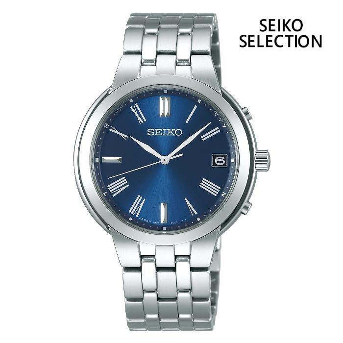 SEIKO セイコー SEIKO-SELECTION セイコーセレクション SBTM265 ソーラー電波 メンズ 腕時計 ウォッチ 時計 シルバー色 金属ベルト 国内正規品 メーカー保証付 誕生日プレゼント 男性 ギフト ブランド かっこいい もてる 送料無料