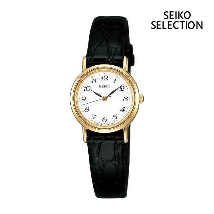 SEIKO セイコー SEIKO-SELECTION セイコーセレクション SSDA030 レディス 腕時計 ウォッチ 時計 金色 カーフストラップ 国内正規品 メーカー保証付 誕生日プレゼント 女性 ギフト ブランド おしゃれ 送料無料