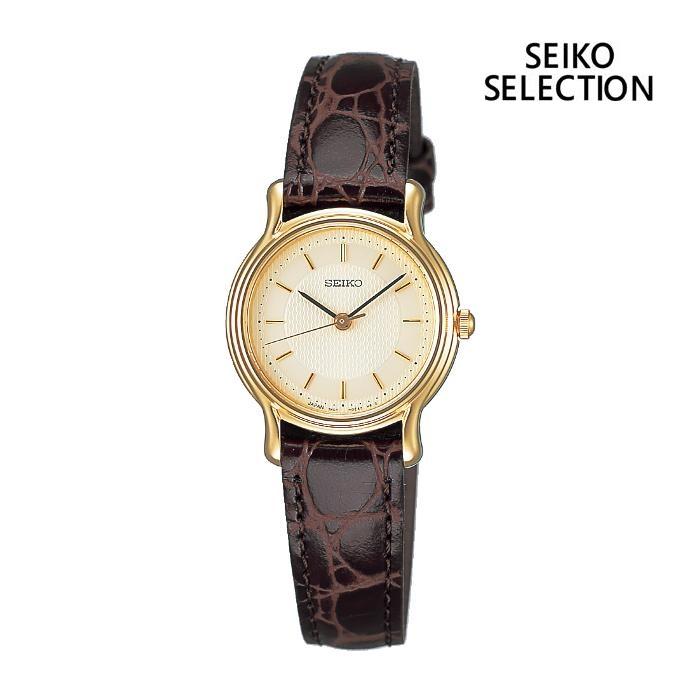 SEIKO セイコー SEIKO-SELECTION セイコーセレクション SSDA034 レディス 腕時計 ウォッチ 時計 金色 カーフストラップ 国内正規品 メーカー保証付 誕生日プレゼント 女性 ギフト ブランド おしゃれ 送料無料