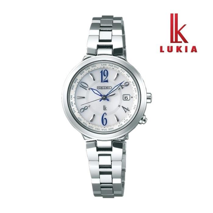 SEIKO セイコー LUKIA ルキア SSVV033 ソーラー電波 レディス 腕時計 ウォッチ 時計 シルバー色 金属ベルト 国内正規品 メーカー保証付 誕生日プレゼント 女性 ギフト ブランド おしゃれ 送料無料
