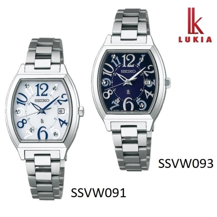 SEIKO セイコー LUKIA ルキア SSVW091 SSVW093 ソーラー電波 レディス 腕時計 ウォッチ 時計 シルバー色 金属ベルト 国内正規品 メーカー保証付 誕生日プレゼント 女性 ギフト ブランド おしゃれ 送料無料