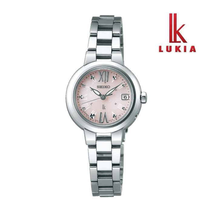 SEIKO セイコー LUKIA ルキア SSVW137 ソーラー電波 レディス 腕時計 ウォッチ 時計 シルバー色 金属ベルト 国内正規品 メーカー保証付 誕生日プレゼント 女性 ギフト ブランド おしゃれ 送料無料