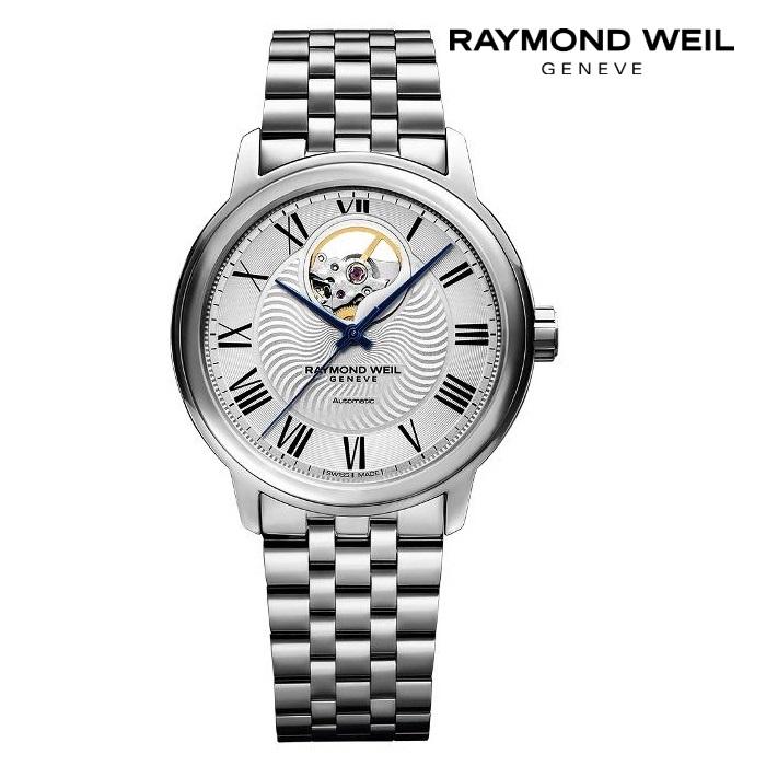 RAYMONDO WEIL レイモンドウェイル 2227-ST-00659 メカニカル 自動巻き メンズ 腕時計 ウォッチ 時計 シルバー色 金属ベルト 正規輸入品 メーカー保証付 誕生日プレゼント 男性 ギフト ブランド かっこいい もてる 送料無料
