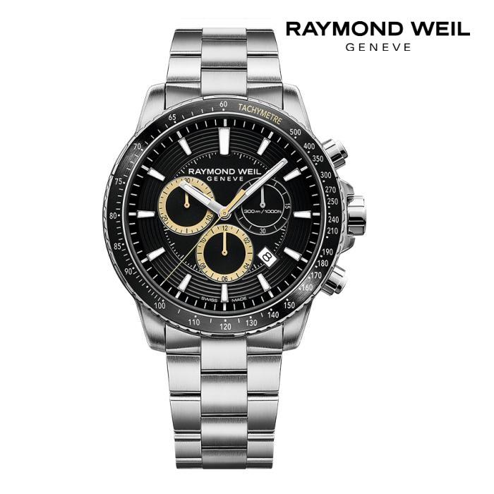 RAYMONDO WEIL レイモンドウェイル 8570-ST1-20701 電池式クオーツ メンズ 腕時計 ウォッチ 時計 シルバー色 金属ベルト 正規輸入品 メーカー保証付 誕生日プレゼント 男性 ギフト ブランド かっこいい もてる 送料無料