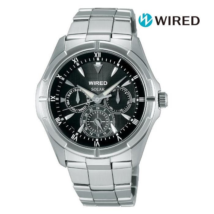 セイコー メンズウォッチ 誕生日プレゼント かっこいい 当店は最高な サービスを提供します SEIKO WIRED ワイアード AGAD032 ソーラー メンズ 腕時計 メイルオーダー 国内正規品 ウォッチ 送料無料 ギフト ブランド シルバー色 メーカー保証付 時計 もてる 金属ベルト 男性