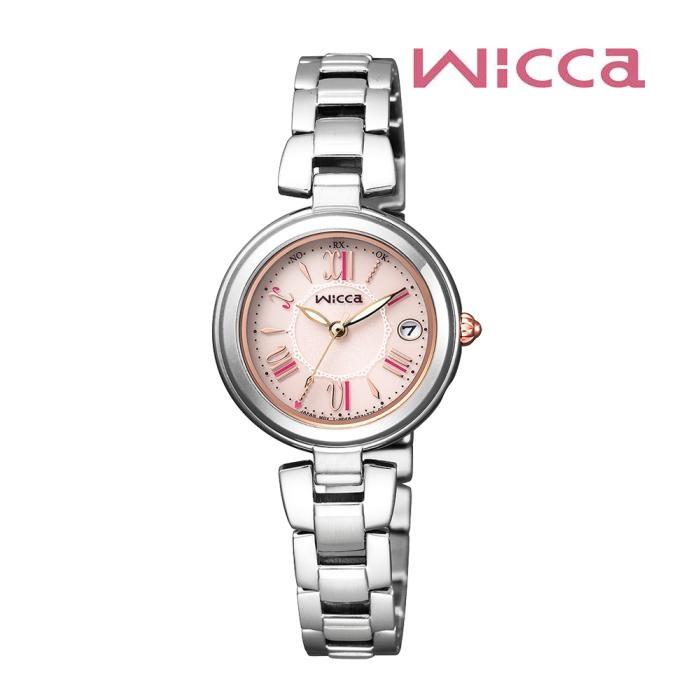CITIZEN シチズン Wicca ウィッカ KL0-618-91 ソーラーテック電波 レディス 腕時計 ウォッチ 時計 シルバー色 金属ベルト 国内正規品 メーカー保証付 誕生日プレゼント 女性 ギフト ブランド おしゃれ 送料無料