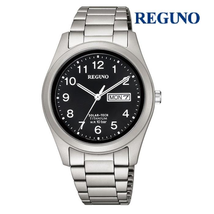 CITIZEN シチズン レグノ REGUNO KM1-415-53 ソーラーテック メンズ 腕時計 ウォッチ 時計 グレー色 金属ベルト 国内正規品 メーカー保証付 誕生日プレゼント 男性 ギフト ブランド かっこいい もてる 送料無料
