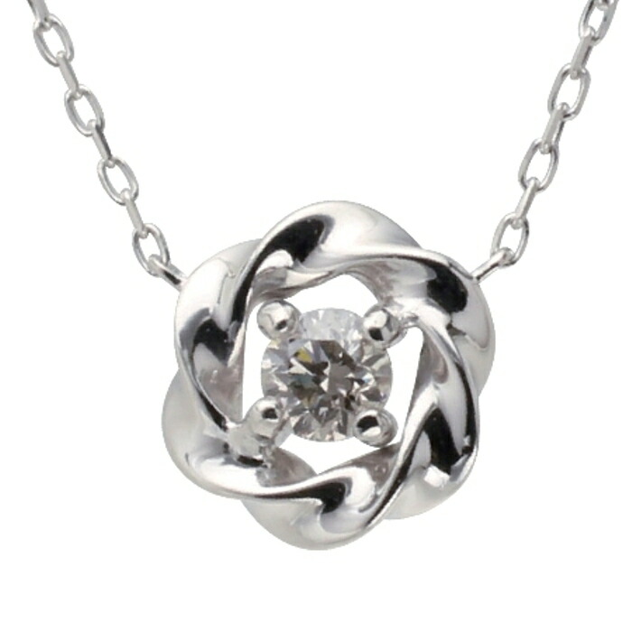 【kawasumi】 【送料無料】 K10WGダイヤプチネックレス 10金 K10 ホワイトゴールド ネックレス ダイヤ ダイヤモンド 一粒ダイヤ 一粒 一粒ネックレス 記念日 誕生日 プレゼント ギフト 贈り物 お値打ち お出かけ 高級 ジュエリー