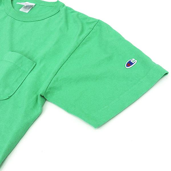 Champion (champion) USA made T1011 heavyweight Jersey Pocket short sleeve T shirt Mint (685) S/M/L