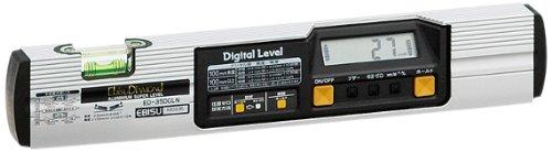 【エビス】 水平器 デジタルレベル ED-35DGLN 350mm マグネットなし
