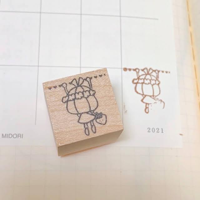カレンダーやスケジュール帳に押すとかわいいです 日本 数量限定アウトレット最安価格 丸善 ぶら下がり りぼんちゃん かわいい ゴム印 ハンコ ハート 可愛い パンダ メモ ノート かょのこ バレットジャーナル リボンちゃん 模様