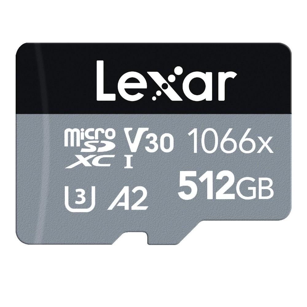 全商品配送無料 平日13時までの決済完了分は即日出荷 メール便は追跡番号付きで安心 配達スピードも速くなりました 512GB microSDXCカード マイクロSD Lexar レキサー Professional ※アウトレット品 Silver 1066x 海外リテール LMS1066512G-BNANG UHS-1 Class10 V30 W:120MB U3 半額 R:160MB メ s A2