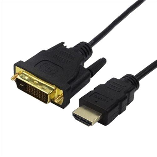 全商品配送無料 平日13時までの決済完了分は即日出荷 メール便は追跡番号付きで安心 配達スピードも速くなりました 変換ケーブル ブランド激安セール会場 TFTEC 変換名人 DVI-D 格安店 to メ 24+1ピン HDMI 極細 DVHD-18GS 1.8m 金メッキケーブル