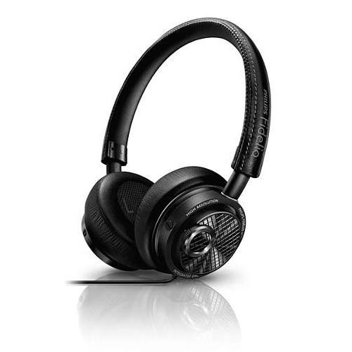 密閉型ヘッドホン PHILIPS フィリップス Fidelio 高音質 Apple MFi認証ライトニング(Lightning)端子専用 ブラック M2L ◆宅