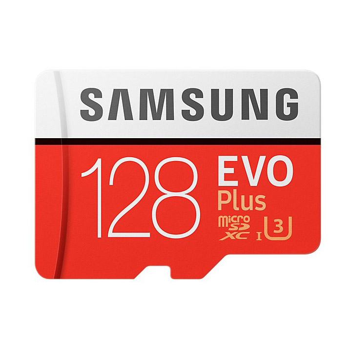 128GB microSDXCカード マイクロSD Samsung サムスン EVO Plus CLASS10 UHS-I U3 R:100MB/s W:90MB/s 海外リテール MB-MC128G/CN ◆メ