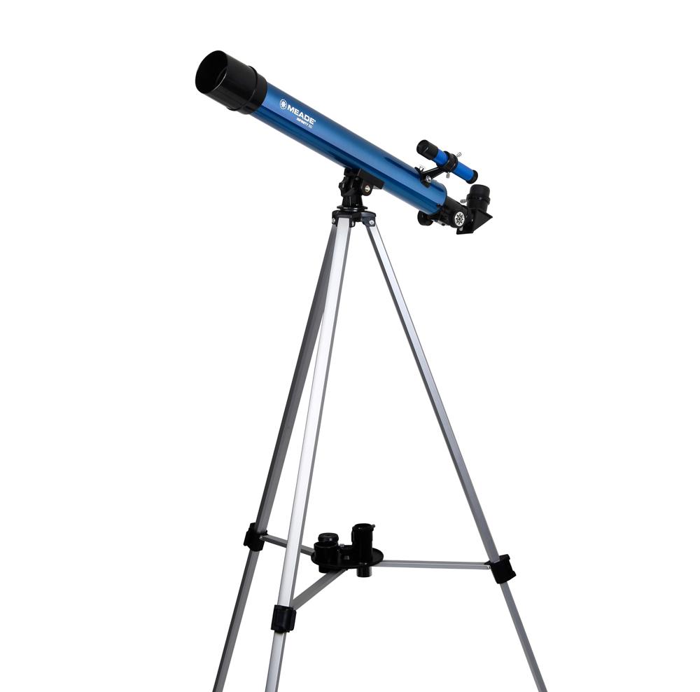 天体望遠鏡 経緯台セット 口径50mm 屈折式 Kenko ケンコー・トキナー 倍率30-300倍 アルミ伸縮三脚付 MEADE AZM-50 ◆宅