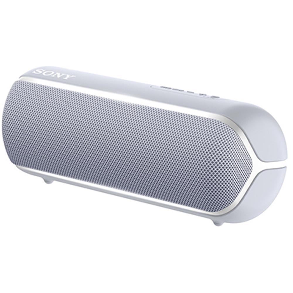 Bluetooth ポータブルワイヤレススピーカー SONY ソニー SBC/AAC対応 迫力の重低音 連続12時間再生 グレー SRS-XB22-H ◆宅
