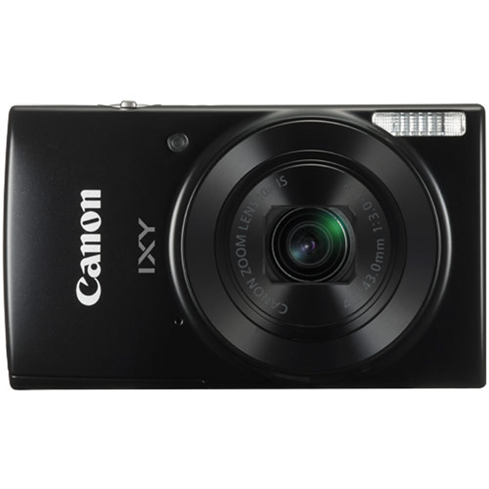 デジタルカメラ IXY210 Canon キヤノン 光学10倍 プログレッシブファインズーム20倍 2000万画素 こだわりオート Wi-Fi機能 ブラック 1795C001 IXY210 (BK) ◆宅