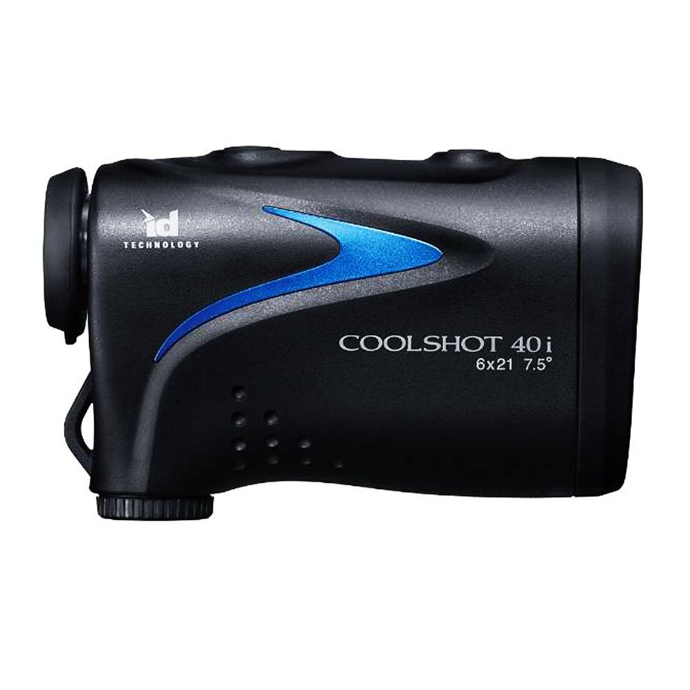 携帯型レーザー距離計 Nikon ニコン 測定範囲7.5~590m ID Technology搭載 IPX4防水構造 COOLSHOT 40i LCS40I ◆宅