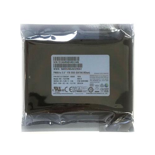 1TB SSD 内蔵型 2.5インチ SATA Samsung サムスン PM851a 7mm厚 SATA3 6Gb/s R:520MB/s W:500MB/s 1.0TB バルク MZ-7LE1T00 ◆メ