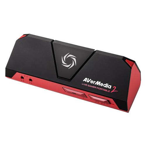 HDMIゲームキャプチャー ポータブルビデオキャプチャーデバイス AVerMedia アバーメディア Live Gamer Portable2 1080p 60fps 高画質録画 AVT-C878 ◆宅