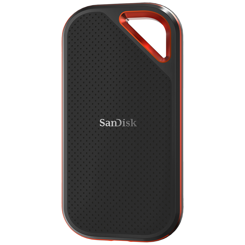 500GB 外付SSD ポータブルSSD USB3.1 Gen2 SanDisk サンディスク Extreme Pro R:1050MB/s 防滴 耐振 耐衝撃 USB-A/USB-C両対応 海外リテール SDSSDE80-500G-G25 ◆宅